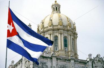 Der vormalige Praesidentenpalast (1913 - 1920) von Havanna dient heute Revolutionsmuseum (Museo de la Revolucion).