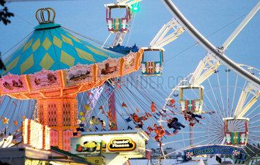 Das zweitgroesste Volksfest in Deutschland: der Cannstatter Wasen.