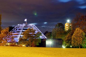 Das Planetarium in Stuttgart