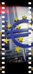 Europaeische Zentralbank in Frankfurt / Main.