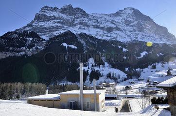 Holzheizwerk Grindelwald