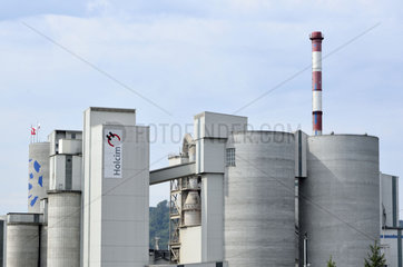 Holcim Zement-Werk in Siggenthal  Schweiz.
