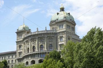 Bundeshaus in Bern  Hauptstadt der Schweiz.