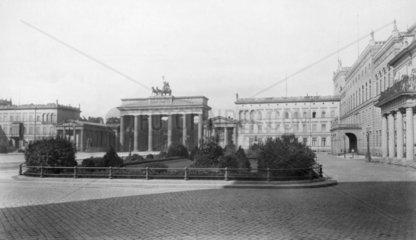 Brandenburger Tor 1890