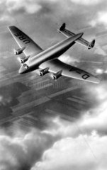 Flugzeug Ju 90