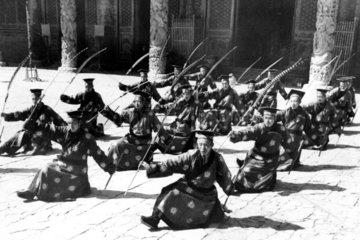 Zeremonie fuer Konfuzius 1930er