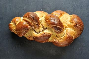 Berner Zopf  Brot.