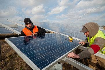 Solarpark Gnoien in Mecklenburg-Vorpommern