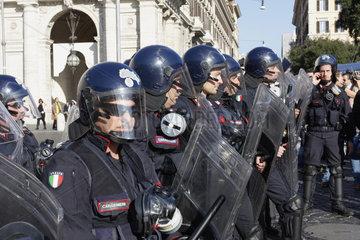 Karabinieri in Rom