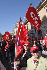 CGIL Gewerkschaft in Rom