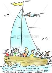 Segeln Yacht 3
