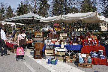Flohmarkt in Italien