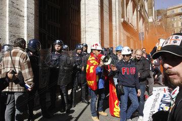 Alcoa Werkarbeiter in Rom