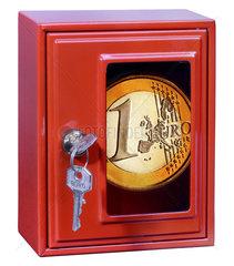 Euro im Tresor  Symbol