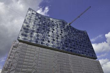 Elbphilharmonie Hamburg in Bau