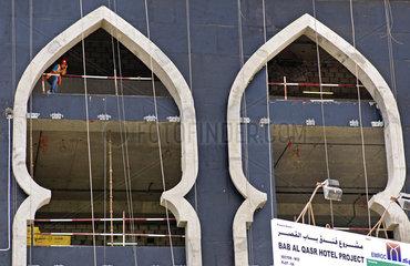 Bausstelle Bab Al Qasr Hotel