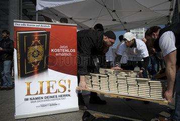 Free Koran Project by the Salafist movement  Berlin