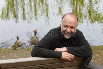 KURKOW  Andrej - Portrait of the writer