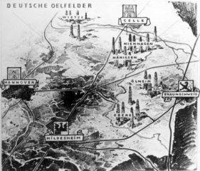 Die deutschen Oelvorkommen im Gebiet von Hannover