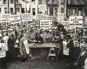 gro_e Gewerkschaftsdemonstration