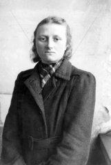 Kennkartenfoto Gerda  Leipzig 1948