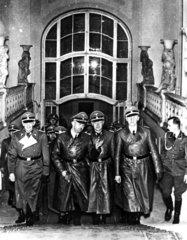 Prag 1941 Gestapochef Heinrich Himmler