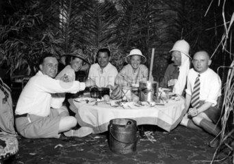 Picknick im Urwald