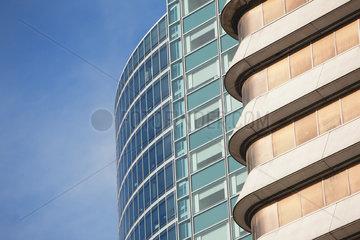 Modern building facades  cropped