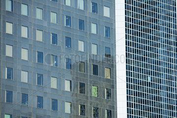 Modern building facades  full frame