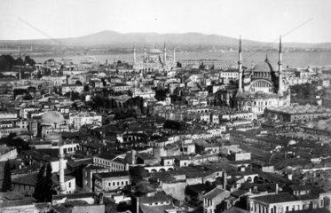 historisches Aufnahme von Istanbul