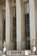 Palais de Chaillot  Paris  France