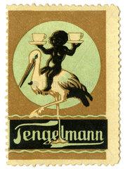 Tengelmann  Reklamemarke  1913