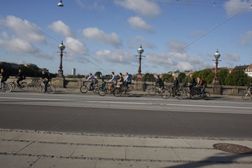Radverkehrs in Kopenhagen
