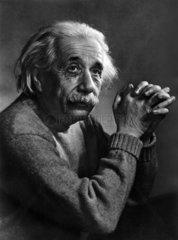 Portraet von Albert Einstein