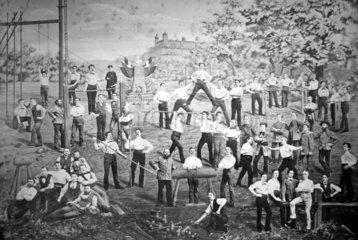 Turneraufnahme von 1881 vermutlich in Wuerzburg