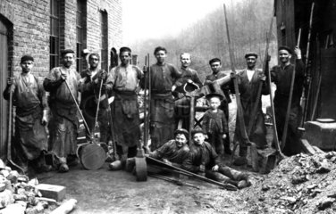 Schmied Kinderarbeit