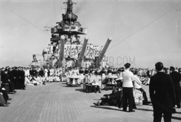 Kriegsmarine  Schlachtschiff Scharnhorst