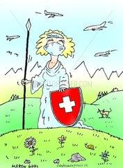 Schweiz Grippe