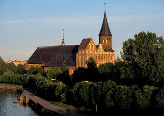 Russland - Kaliningrad - Ostpreussen: Dom von Koenigsberg