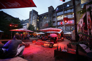 Berlin Landmark Tacheles Threatened By Closure