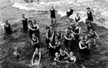 Badegruppe