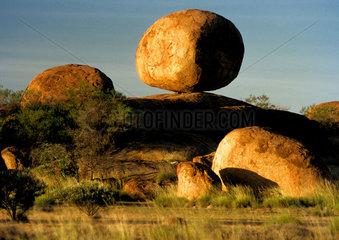 grosser runde Steine