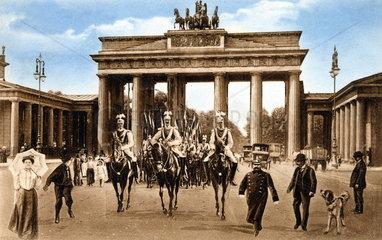 Berlin  Brandenburger Tor ca. 1800