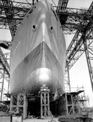 Schiffswerft fuenfziger Jahre