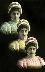 3 Frauen Tracht Reihe