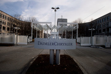 Production facility of the Mercedes Benz brand of DaimlerChrysler