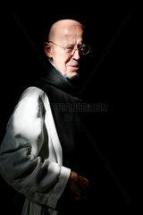 Bernhard Taebes  der Leiter des Zisterzienserklosters in Osek am Fusse der Erzbebirge