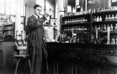 Chemiker Labor