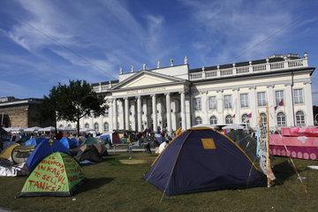 Documenta 13 Occupy Zeltlager