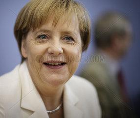 Angela Merkel summer press meeting